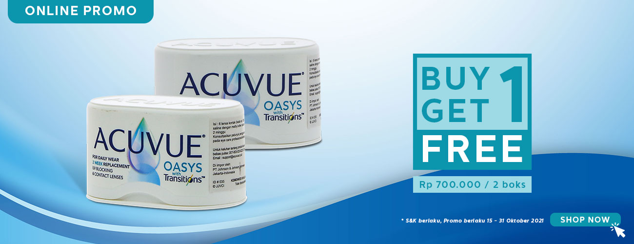 Buy 1 Get 1 - Acuvue Transition