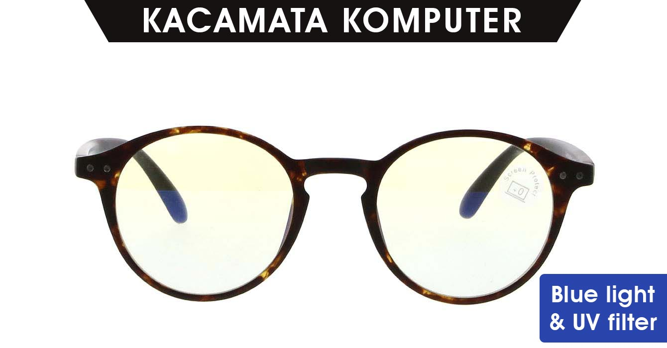 KACAMATA KOMPUTER EZ-READER CAMBRIDGE WARNA TORTOISE