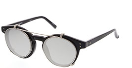 Kacamata LINDA FARROW LFL569 2 BLACK/WHITE GOLD/PLATINUM