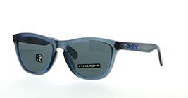Kacamata OAKLEY FIRE AND ICE COLL FROGSKINS (A) MATTE CRYSTAL BLK W/PRIZM GREY (OO9245-79) s54
