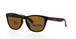 Kacamata OAKLEY FIRE AND ICE COLL FROGSKINS (A) MATTE BLACK W/PRIZM BRONZE (OO9245-78) s54