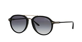 Kacamata TOM FORD FT674 01B RUPERT