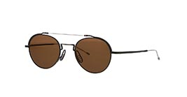 0da82a45ecff Kacamata THOM BROWNE TBS912 03 BLACK IRON-SILVER W DARK BROWN-AR