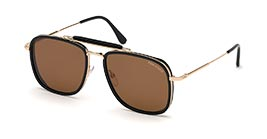 Kacamata TOM FORD FT665 01E HUCK