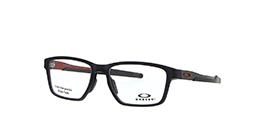 31fe8c6a9d936 Kacamata OAKLEY OPH. METALINK SATIN GREY SMOKE  BRK RED (OX8153-05)