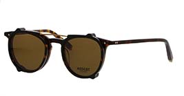 Kacamata MOSCOT JARED TORTOISE s47 + CLIP ON TORTOISE COSMITAN BROWN