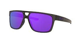Kacamata OAKLEY CROSSRANGE PATCH GREY SMOKE W/VIOLET IRID (OO9382-21) s60