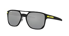 Kacamata OAKLEY VALENTINO ROSSI COLLECTION LATCH ALPHA MATTE BLK W/PRZM BLK IRID (OO4128-08) s53