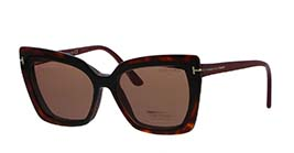Kacamata TOM FORD FT5641-B 075 s53 + 2 CLIP ON