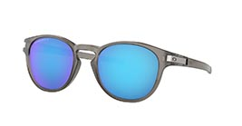 Kacamata OAKLEY LATCH MATTE GREY INK W/ PRIZM SAPPHIRE POLARIZED (OO9265-32) s53