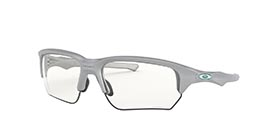Kacamata Oakley Flak Beta (A) Silver W/ Clear-black Photochromic (OO9372-10) s65