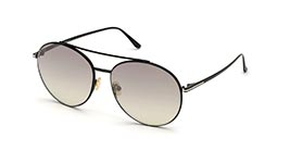 Kacamata TOM FORD FT757-D 01C s61 CLEO