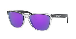 Kacamata OAKLEY FROGSKINS 35TH (A) POLISHED CLEAR W/PRIZM VIOLET (OO9444F-05) s57