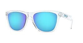 Kacamata Oakley Prizm Frogskins (A) Crystal Clear W/ Prizm Sapphire (OO9245-A7) s54