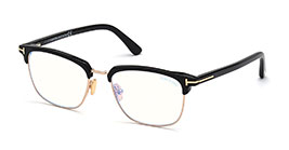 Kacamata Tom Ford FT5683-B 001 s54 + CLIP ON