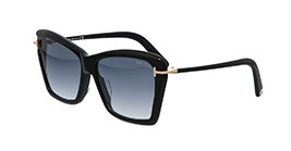 Kacamata Tom Ford FT849-F 01B LEAH s65