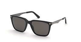 Kacamata Tom Ford FT862-F 01D GARRETT s56 POLARIZED