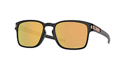 Kacamata Oakley Latch SQ (A) Matte Black W/ Prizm Rose Gold (OO9358-21) s55